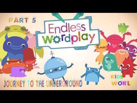 Endless WordPlay Part 5 Alphabet Journey to the underground, Education Vocabulary
