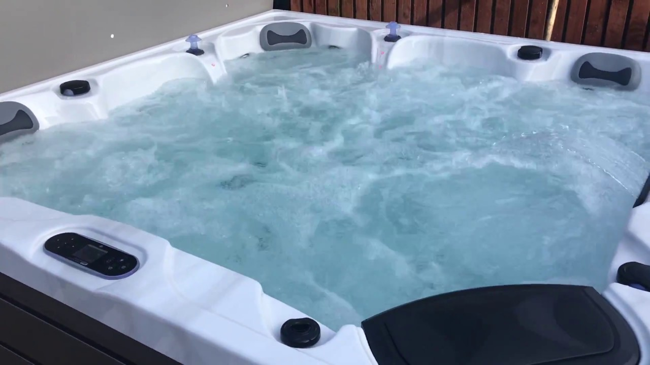 The Barbados hot tub installed in Maryport today by Better Living ...