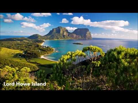 Australian and New Zealand Pacific Ocean Islands