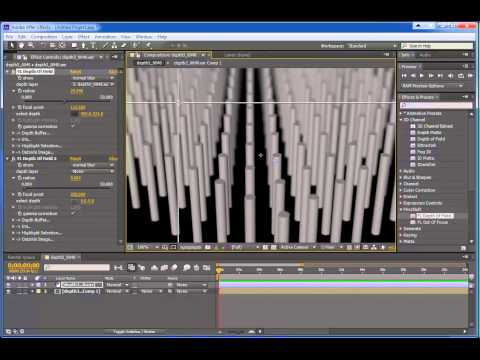 Z Passes from Cinema 4D into AE