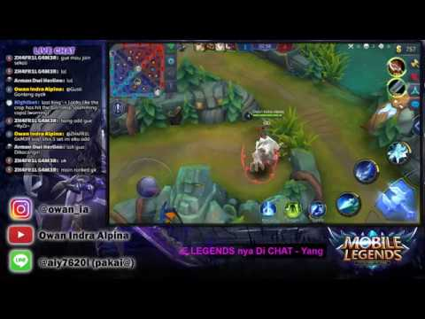 🔴[ LIVE ]  Main abis Jum'at an -  MABAR chat aja  |  MOBILE LEGENDS INDONESIA
