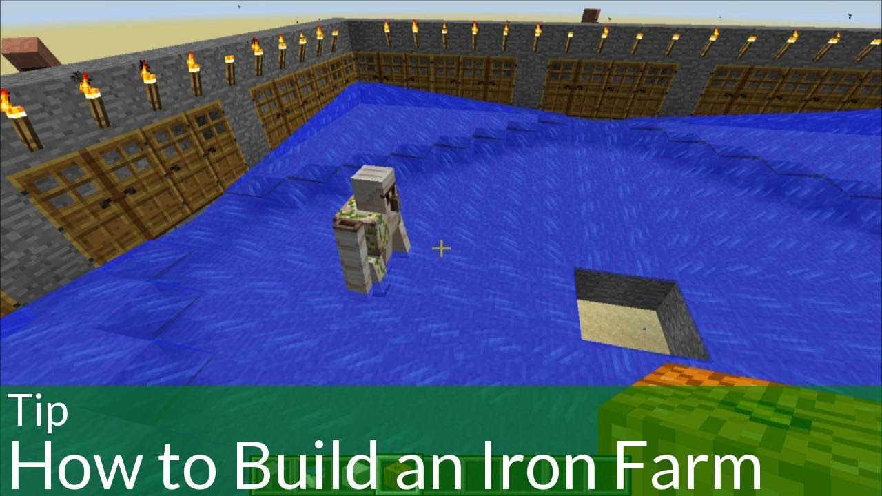 Tip How to Build an Iron Farm in Minecraft