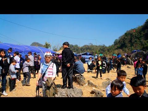 2016 Ncig saib Hmoob NyajLab TojSiab,TuamCuaj P1.  Trip to Remote Hmong Vietnam Village. (HD)