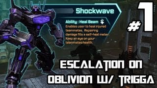 Transformers Fall of Cybertron - Escalation as Shockwave on Oblivion w/ Trigga - Welcome Back!