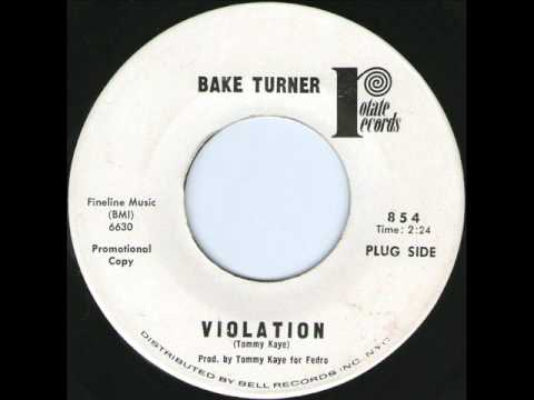 Bake Turner - Violation