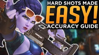 Overwatch: Hard Shots MADE EASY! - Improve Accuracy Guide!