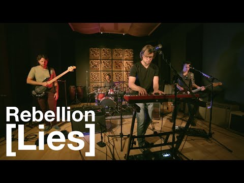 "Headphone Performing Live Version Of ""Rebellion (Lies)"" At Magnatron Studios"