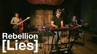 "Headphone Performing Live Version of ""Rebellion (Lies)"" at Magnatron Studios"