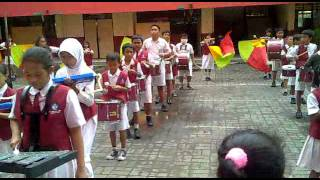 Marching band Satyanirmala part 03 Bangun Pemudi Pemuda mp4