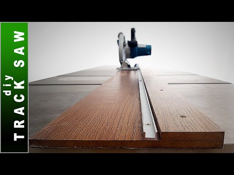 🟢 Homemade Track Saw - DIY Guide Rail for Circular Saw