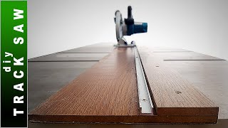 🟢 Homemade Track Saw - DIY Guide Rail for Circular Saw