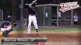 MARCUS WILSON PROSPECT VIDEO, OF, SAN GABRIEL VALLEY ARSENAL CLASS OF 2014