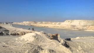 مشهد عام للحفر 25ديسمبربالقطاع الاوسط