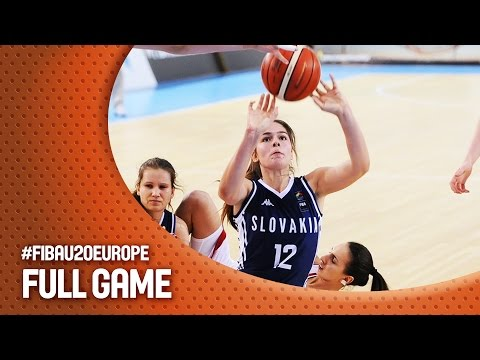 Germany v Slovak Republic - Full Game - CL 15-16 - FIBA U20 Women's European Championship 2016