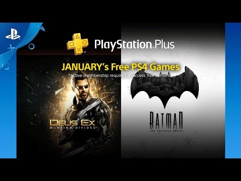 January 2018 Free PS4 Games Lineup | PlayStation Plus