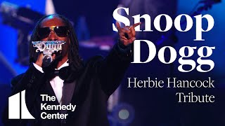 Snoop Dogg's Tribute to Herbie Hancock at the 2013 Kennedy Center Honors