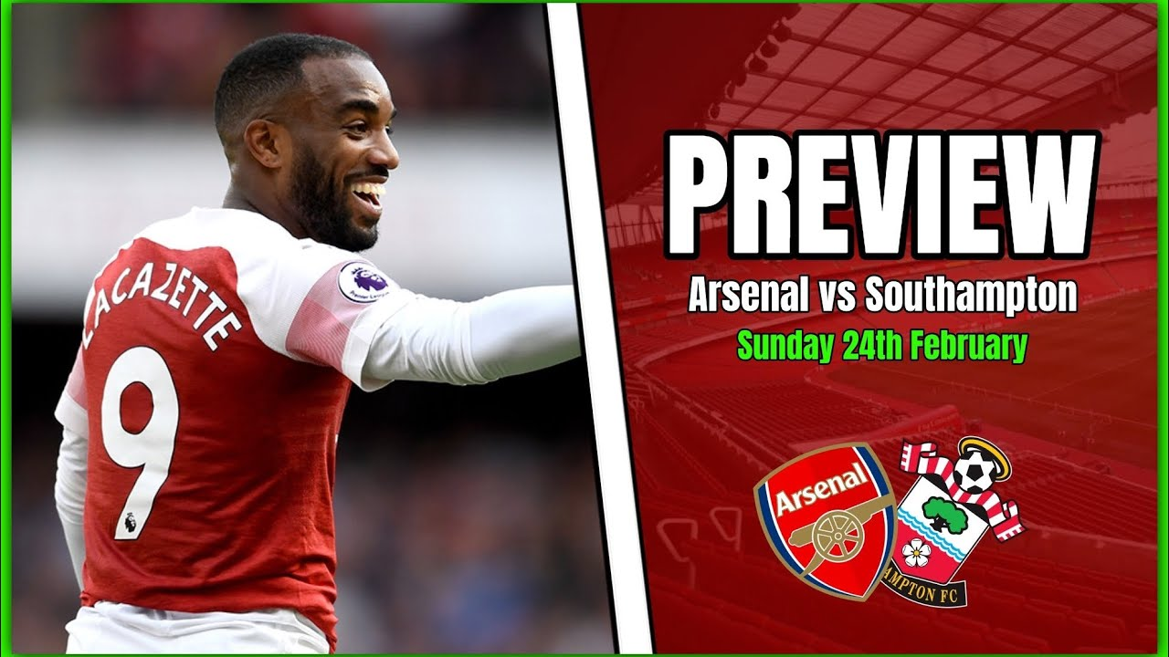 Arsenal vs Southampton - These Are The Games We Have To ...