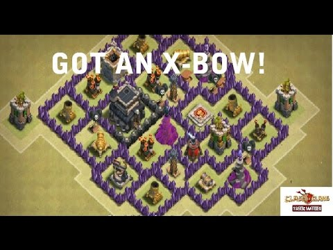 X Bow Clash Of Clans GOT AN X BOW! -...