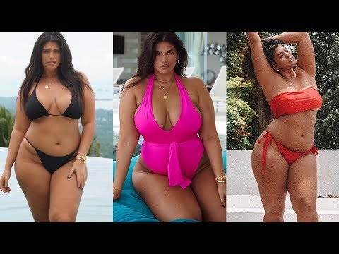 PRETTY LITTLE THING PLUS SIZE SWIMWEAR TRYON HAUL | LA'TECIA THOMAS