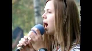 Подростковый поход / Глаза полны любви / Церковь Спасение(30 мая 2015 года был организован подростковый поход в деревню Федюки. Песня в видео -