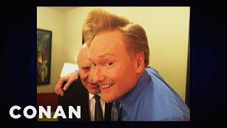 Carl Reiner & Conan Take A  #Selfishie
