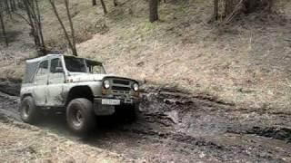 УАЗ 469 пищера караульная красноярск 093.avi