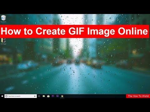 How to Create Animated GIF Image Online in just a few seconds.