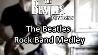 The Beatles Rock Band [Guitar Medley]