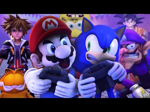 Mario Vs Sonic in Super Smash Bros Ultimate | Sasso Studios thumbnail