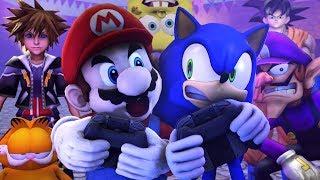 Mario Vs Sonic in Super Smash Bros Ultimate | Sasso Studios