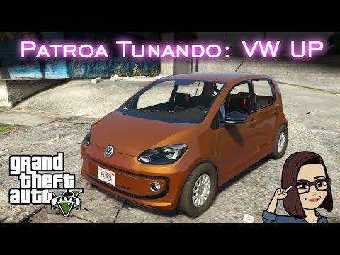 Patroa Tunando: Volkswagen UP - MOD - Facecam! | GTA V - PC [PT-BR]