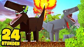 24 STUNDEN ALS DINOSAURIER LEBEN! - Minecraft [Deutsch/HD]