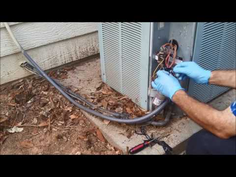 How To Test and Replace dual run capacitor - When AC Fan and