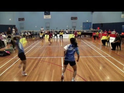 2016 Australasian Under 17 Badminton Championships - Girls Doubles Final