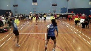2016 Australasian Under 17 Badminton Championships - Girls Doubles Final