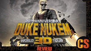 DUKE NUKEM 3D 20TH ANNIVERSARY WORLD TOUR - PS4 REVIEW (Video Game Video Review)