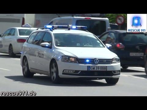 Politi Kobenhavn // Police car Copenhagen