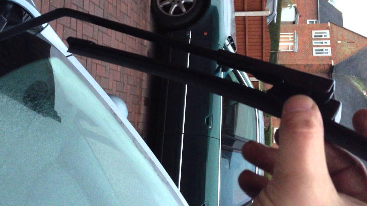 peugeot 207 sw windscreen wipers - youtube