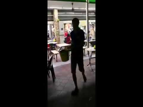 Men in their 60s hurl vulgarities and fight at Yishun kopitiam... over auntie