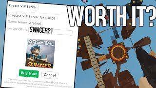 Geheime Karten/VIP-Server | Arsenal Roblox