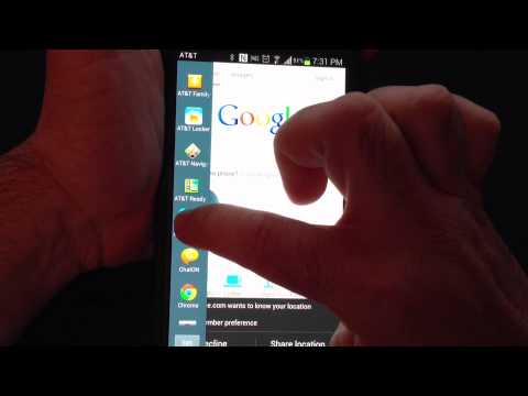 Samsung Galaxy Note 2 Tip 23:  How To Use Multi Window