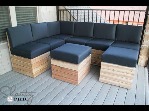 DIY Modular Seating