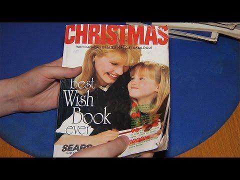 Old Catalog - Sears Christmas 1989
