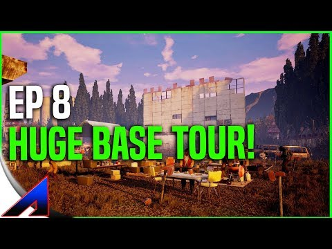 Base Tour! | State Of Decay 2 | Walkthrough Gameplay |  Ep8