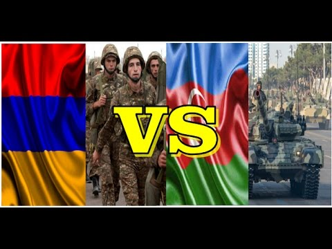 Armenia VS Azerbaijan Military Comparison 2016 - 2017