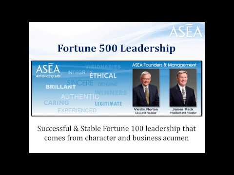 130815 ASEA Business Overview Webinar