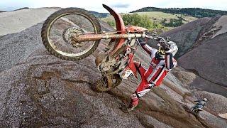 Enduro: The Wheelie, Hillclimb, Fails