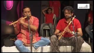 mere naina sawan on flute by Sunil & Ashwin