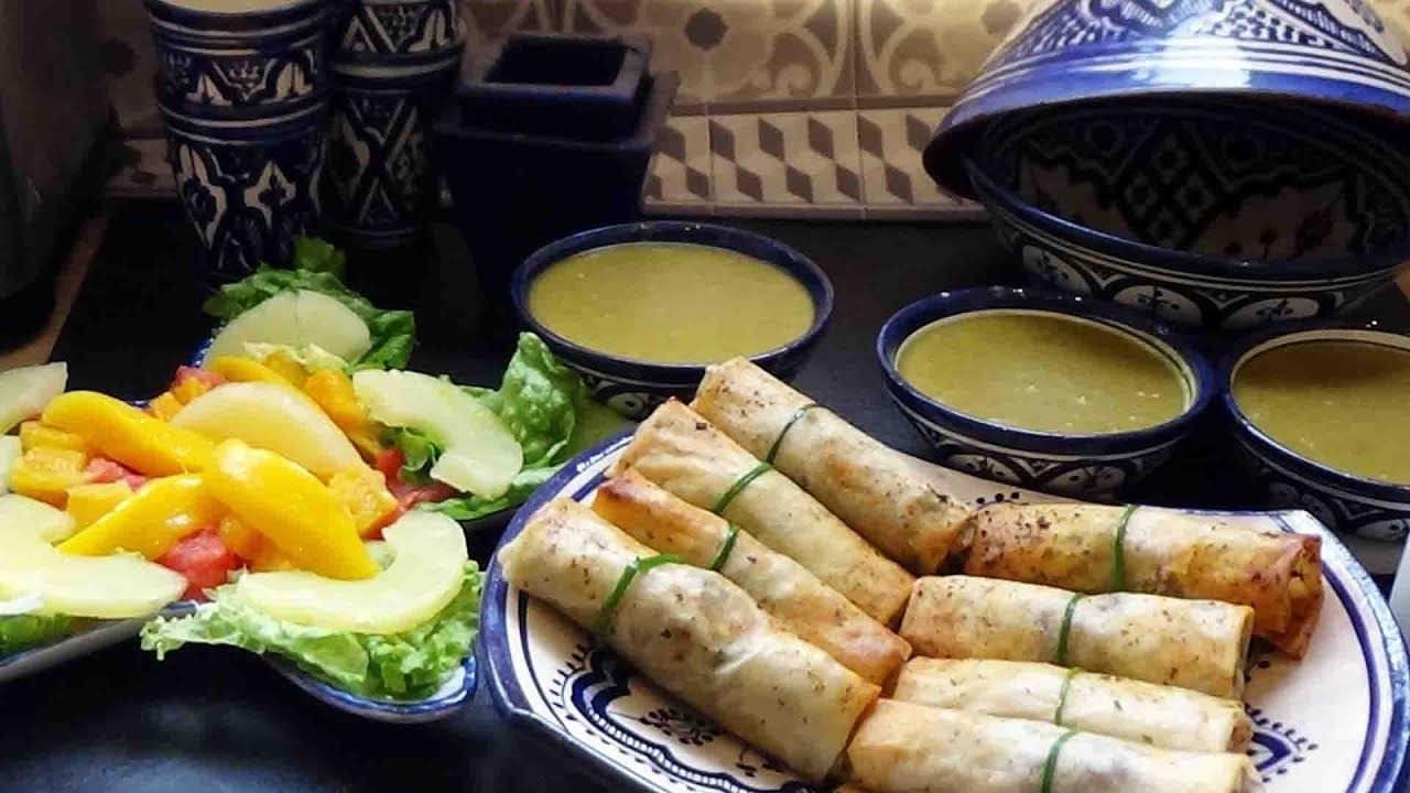 Idée d'un repas pour le ramadan des recettes faciles et rapides - YouTube