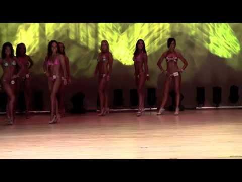 Fitness Bikini Modeling Event